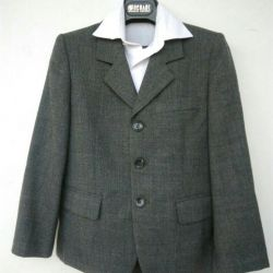 Suit for a first-grader.