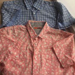 2 erkek gömlek