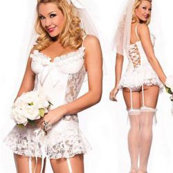 New bride costume