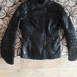 Deri ceket, profile bak