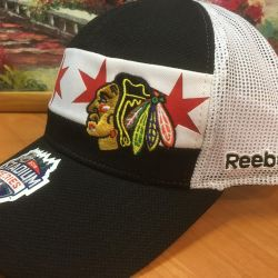 Cap cap de baseball NHL Chicago Black Hawks new.Orig