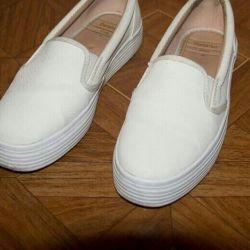 Slip-on shoes boots