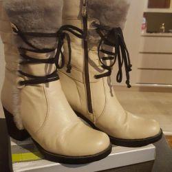 Νέες μπότες αστραγάλων χειμώνα