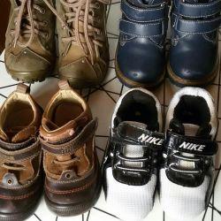 Παπούτσια άνοιξη / φθινόπωρο 22 μεγέθη (14εκ.)