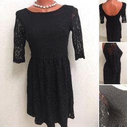 Сукня з вирізом на спинці
