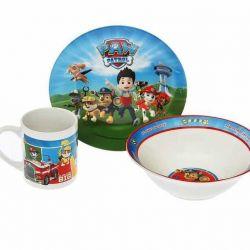 Set of children's dishes Paw Patrol