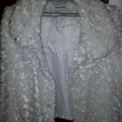 The fur coat is wedding