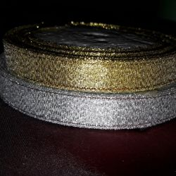 Panglica aur / argint 1,2cm.