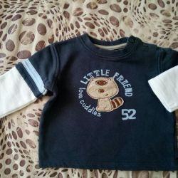 Cotton sweatshirt for boy