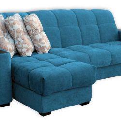 Takho γωνία καναπέ από το μικρο-βελούδο