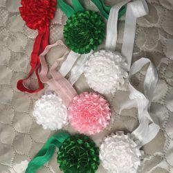 Новые повязки на голову с цветком