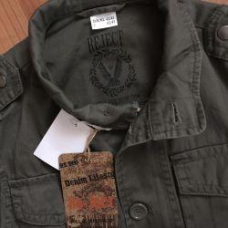 Jachetă din bumbac nouă