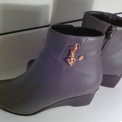 Ankle boots demi-season