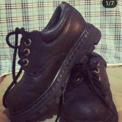 Ботинки ЭККО и Skechers на девочку