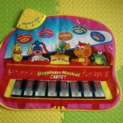 Musical rug for kids