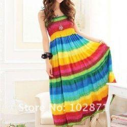 New Rainbow Dress for 44-46r