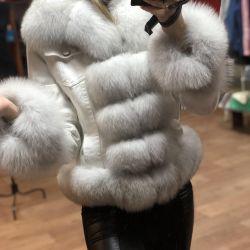 Χιόνι Λευκό Τζιν με Γούνα