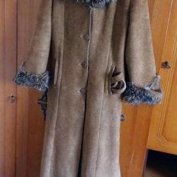 Kış koyun derisi ceket
