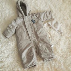 Demi-season jumpsuit from Germany for a boy