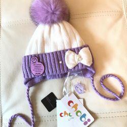 New hat Chobi winter M 52-54