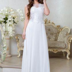 Новое белое платье 63