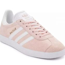 Adidas Gazelle OG Pink Suede with White