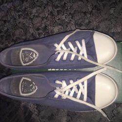 SALE! Lacoste Blue Sneakers
