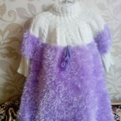 Вязаное платье, новое