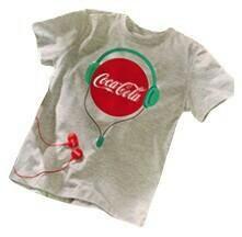 T-shirts New Coca-Cola design of 3 types