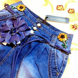 miss sixty gorgeous new skirt with daisies