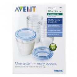 avent new containers