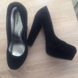 Туфли замша,размер 37,5