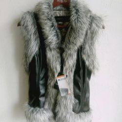 Fur vest New 46