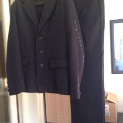 School suit for a boy height of 146-152 cm.