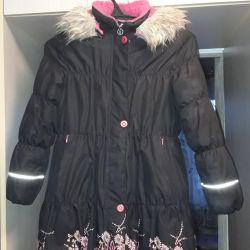 Coat winter f Lenne