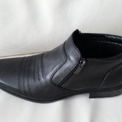 Hakiki deri çizmeler