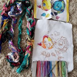 floss and embroidery
