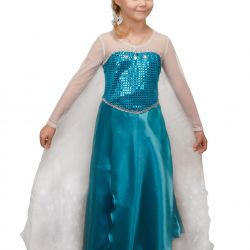 Children's carnival costume Elsa