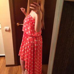 Новое классное платье со шлейфом. 42-44-46