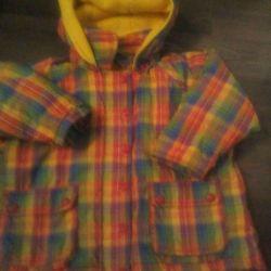 Erkek ve kız çocuk için ceket p 92/98