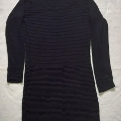 Dress knitted, unload the wardrobe, see the pro