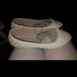 Ballet flats are new