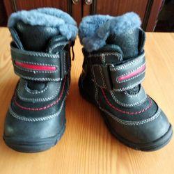 Παιδικά μπότες Zebra χειμώνα 21 μέγεθος.