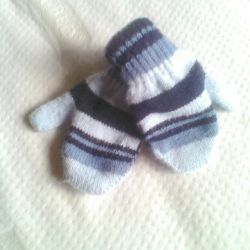 Children's mittens Klaus