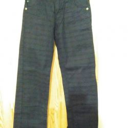 Pipe Check Jeans p.40