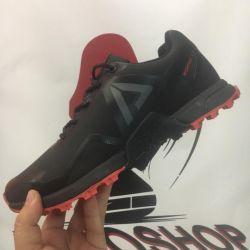 Sneakers on fur