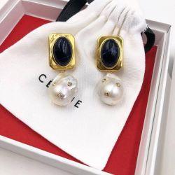 Rafinat cercei perla naturale clip