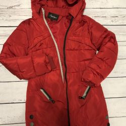 down jacket with a hood