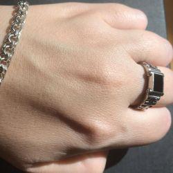 Перстень 21,5-22 разм агат Висилаю в регіон