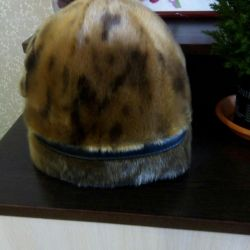 Hat made of seal